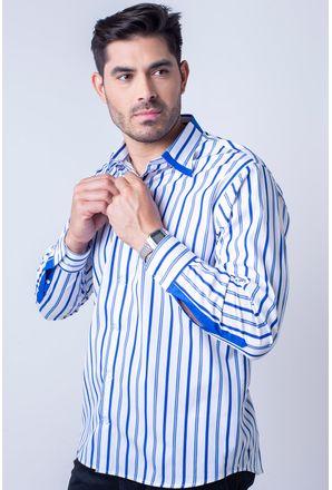 Camisa-casual-masculina-tradicional-algodao-fio-80-azul-f00541a-1