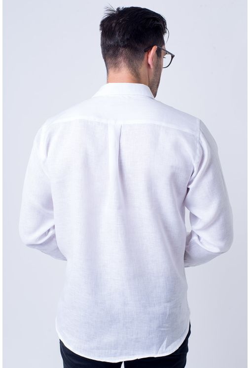 Camisa-casual-masculina-tradicional-linho-branco-f03943a-2