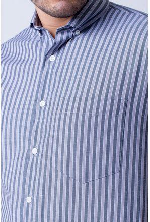 Camisa-casual-masculina-tradicional-algodao-misto-preto-f07463a-3