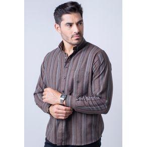 Camisa-casual-masculina-tradicional-flanela-bege-f01100a-1