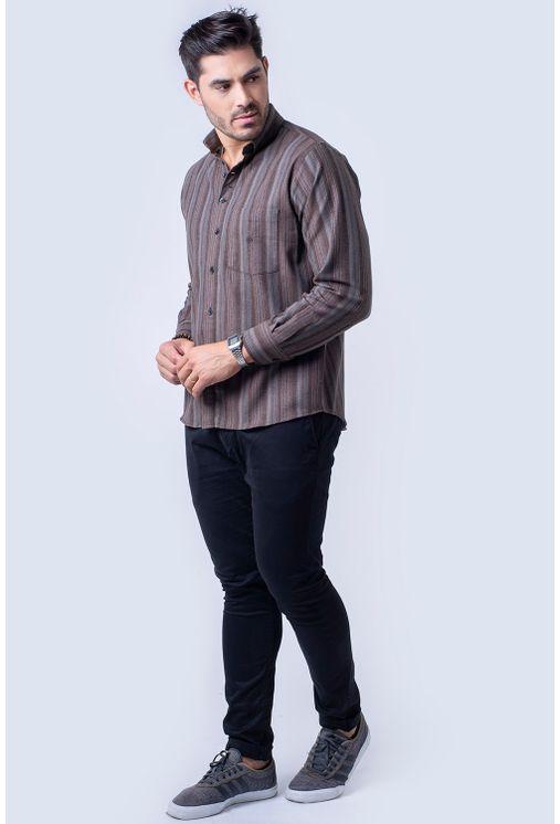 Camisa-casual-masculina-tradicional-flanela-bege-f01100a-4