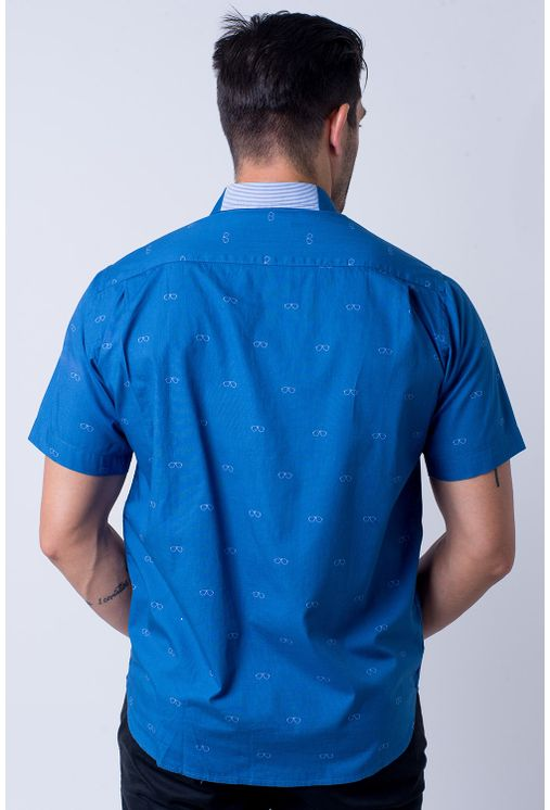Camisa-casual-masculina-tradicional-algodao-fio-60-azul-f01345a-2