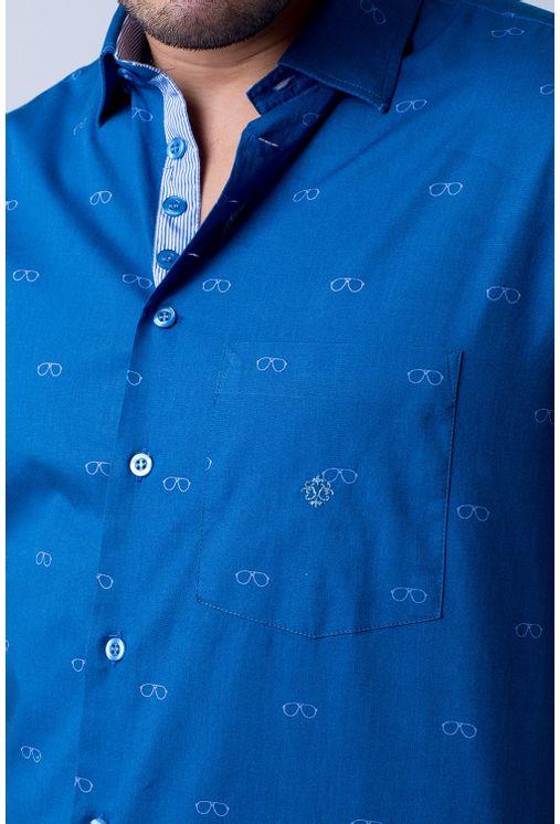 Camisa-casual-masculina-tradicional-algodao-fio-60-azul-f01345a-3