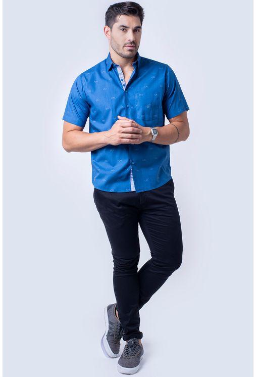 Camisa-casual-masculina-tradicional-algodao-fio-60-azul-f01345a-4