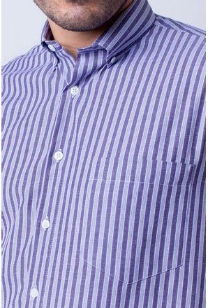 Camisa-casual-masculina-tradicional-algodao-misto-roxo-f07463a-3