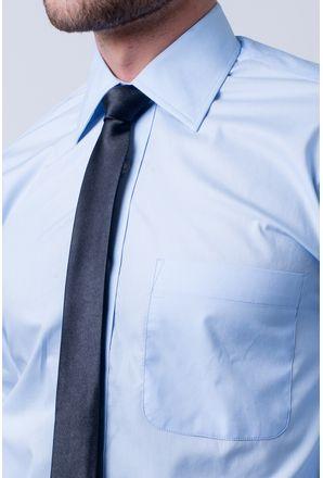 5ce10ee246 ... Camisa-social-masculina-tradicional-algodao-fio-40-azul-