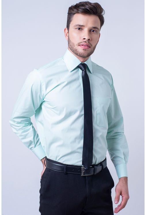 Camisa-social-masculina-tradicional-algodao-fio-50-verde-f08078a-1