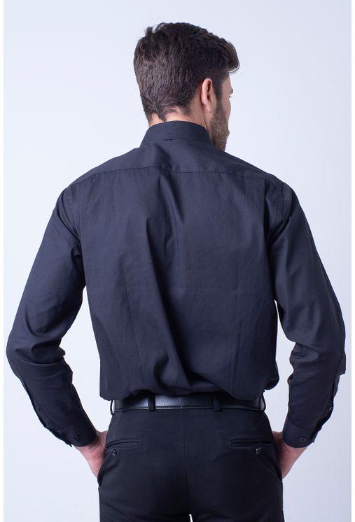Camisa-social-masculina-tradicional-algodao-fio-50-preto-f08079a-2