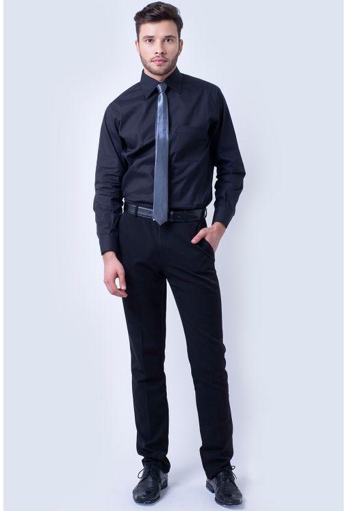Camisa-social-masculina-tradicional-algodao-fio-50-preto-f08079a-4