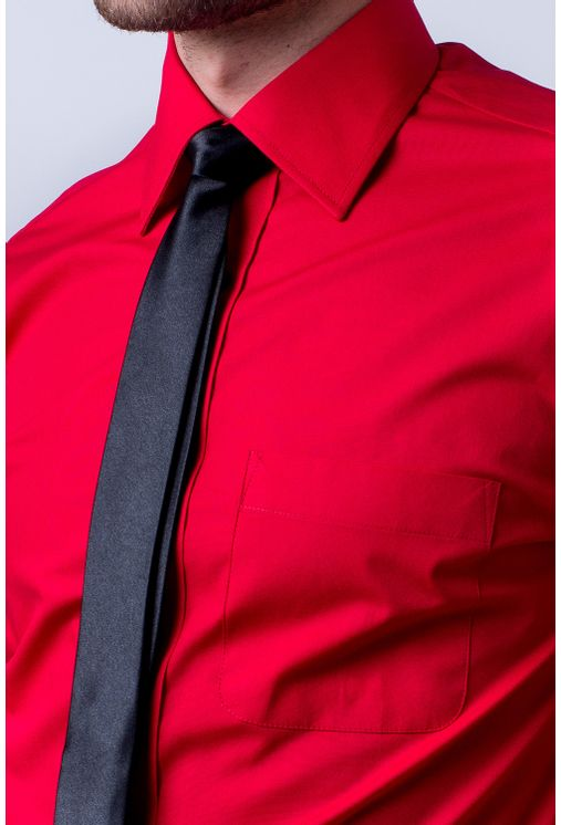 Camisa-social-masculina-tradicional-algodao-fio-40-vermelho-f09937a-1