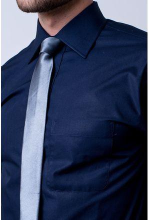 Camisa-social-masculina-tradicional-algodao-fio-50-azul-escuro-f08077a-3