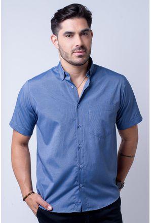 Camisa-casual-masculina-tradicional-algodao-misto-azul-escuro-f07465a-1