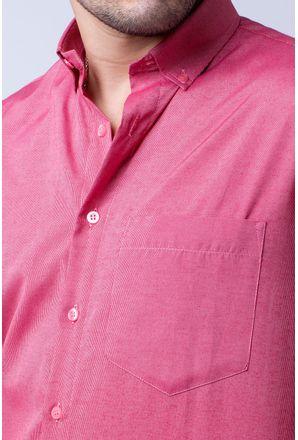 Camisa-casual-masculina-tradicional-algodao-misto-vermelho-f07465a-3