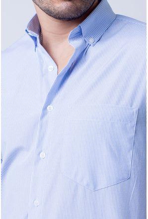 Camisa-casual-masculina-tradicional-algodao-misto-azul-claro-f07465a-3