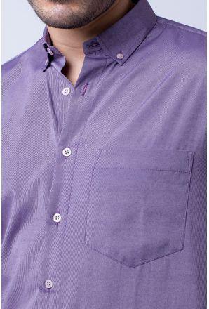 Camisa-casual-masculina-tradicional-algodao-misto-roxo-f07465a-3