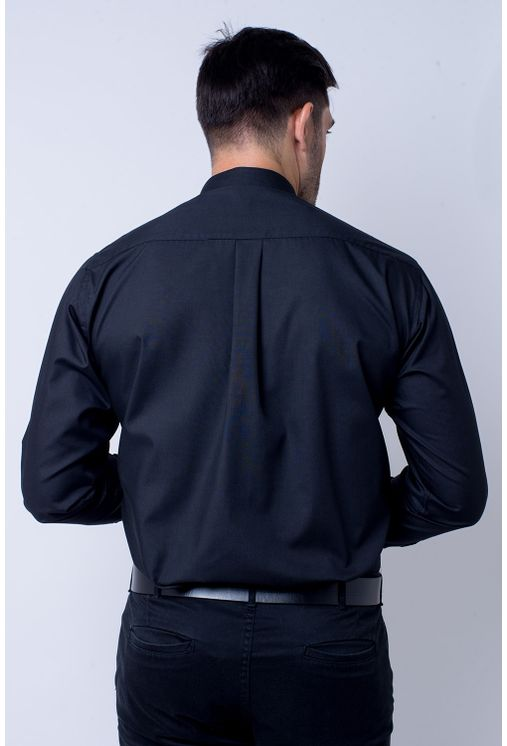Camisa-casual-masculina-tradicional-algodao-misto-preto-r09993a-2