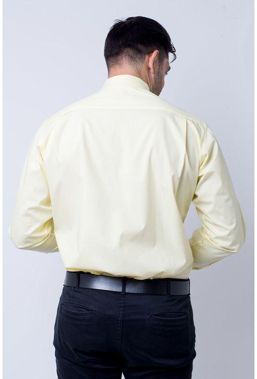 Camisa-social-masculina-tradicional-algodao-fio-40-creme-f09932a-1
