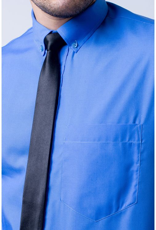Camisa-social-masculina-tradicional-algodao-misto-azul-f09993a-1