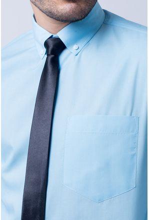 Camisa-casual-masculina-tradicional-algodao-misto-azul-claro-r09993a-3