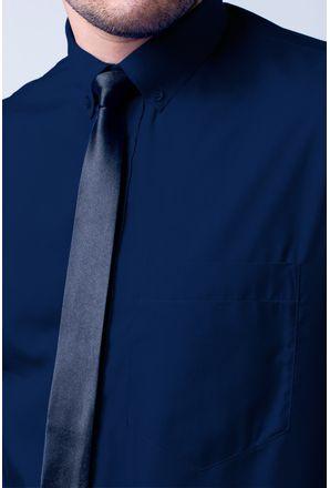 Camisa-social-masculina-tradicional-algodao-misto-azul-escuro-r09993a-3