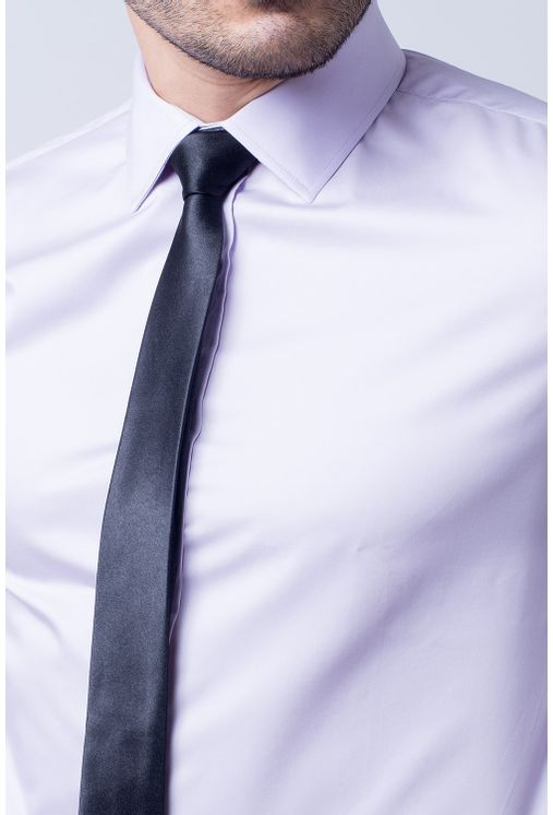 Camisa-social-masculina-slim-algodao-fio-50-lilas-f05525s-1