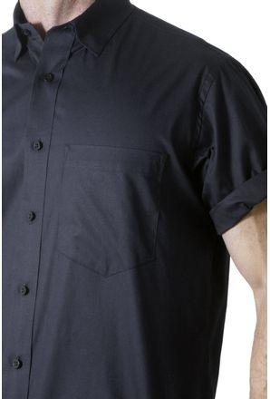 Camisa-social-masculina-tradicional-algodao-misto-preto-f09926a-3