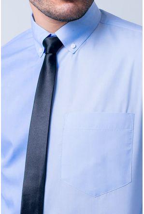 Camisa-social-masculina-tradicional-algodao-misto-azul-medio-f09993a-3