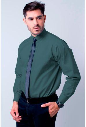 Camisa-social-masculina-tradicional-algodao-misto-cinza-f09993a-1