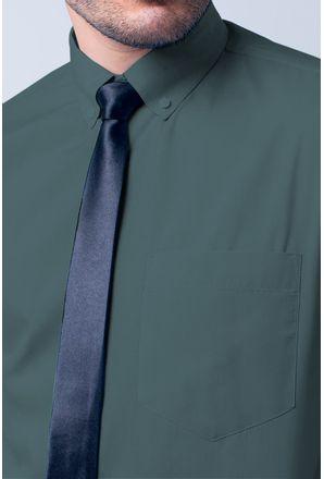 Camisa-social-masculina-tradicional-algodao-misto-cinza-f09993a-3
