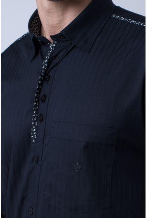 Camisa-casual-masculina-tradicional-algodao-fio-50-preto-f01308a-3
