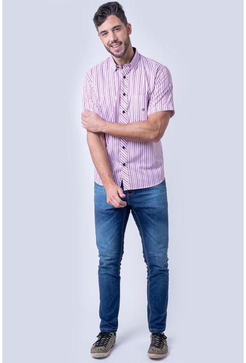 Camisa-casual-masculina-tradicional-algodao-fio-60-rosa-f01275a-4