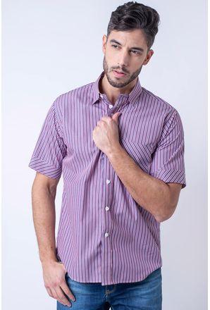 Camisa-casual-masculina-tradicional-algodao-fio-80-roxo-f01421a-1