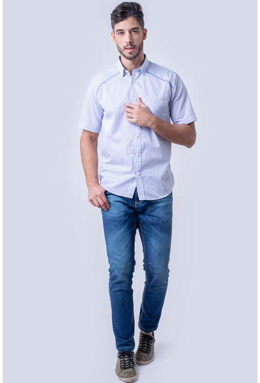 Camisa-casual-masculina-tradicional-algodao-fio-60-azul-claro-f01449a-4