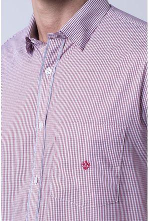 Camisa-casual-masculina-tradicional-algodao-fio-60-vermelho-f01453a-3