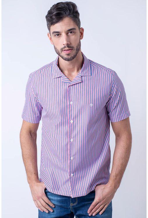 Camisa-casual-masculina-tradicional-algodao-fio-60-rosa-f01506a-1