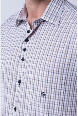 Camisa-casual-masculina-tradicional-algodao-fio-60-bege-f01452a-3