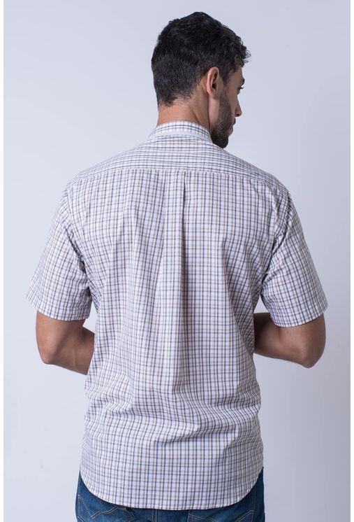 Camisa-casual-masculina-tradicional-algodao-fio-60-bege-f01452a-2