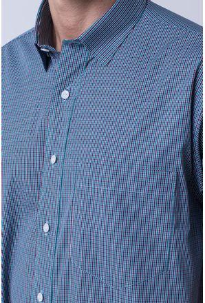 Camisa-casual-masculina-tradicional-algodao-fio-50-verde-f04387a-3