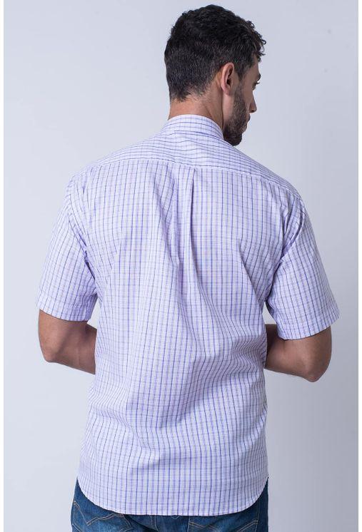 Camisa-casual-masculina-tradicional-algodao-fio-40-rosa-f05527a-1