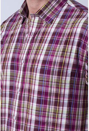 Camisa-casual-masculina-tradicional-algodao-fio-40-roxo-f05527a-3
