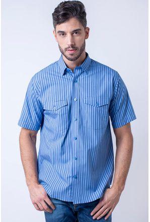Camisa-casual-masculina-tradicional-fio-50-azul-escuro-f06119a-1