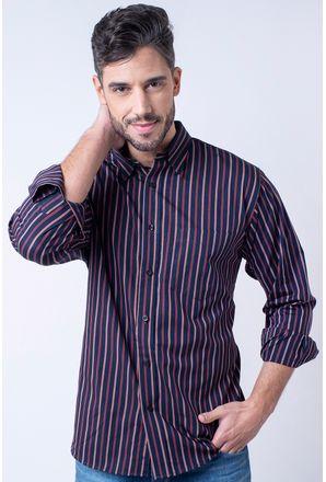 Camisa-casual-masculina-tradicional-algodao-fio-50-roxo-f01315a-1