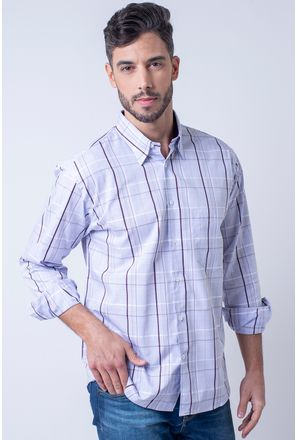 Camisa-casual-masculina-tradicional-algodao-fio-50-lilas-f01506a-1