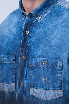 Camisa-casual-masculina-tradicional-jeans-preto-f01820a-3