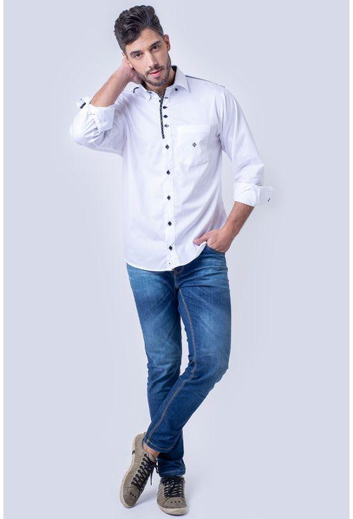 Camisa-casual-masculina-tradicional-algodao-fio-50-branco-f01308a-1