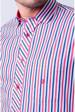 Camisa-casual-masculina-tradicional-algodao-fio-60-vermelho-f01275a-3