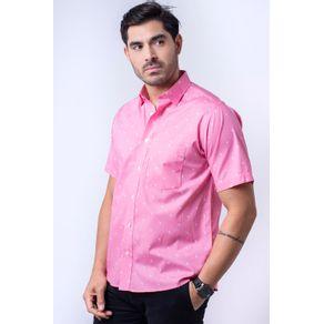 Camisa-casual-masculina-algodao-fio-60-rosa-f05990a-1
