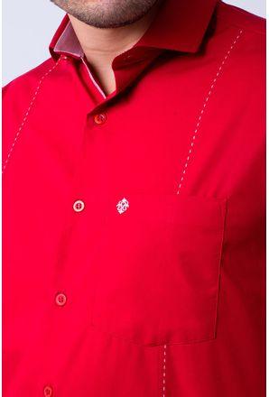 Camisa-casual-masculina-tradicional-algodao-fio-60-vermelho-f01145a-3