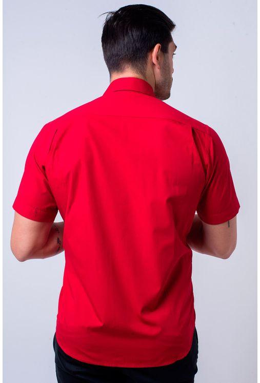 Camisa-casual-masculina-tradicional-algodao-fio-60-vermelho-f01145a-2