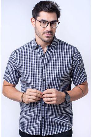Camisa-casual-masculina-tradicional-algodao-fio-50-preto-f08435a-1